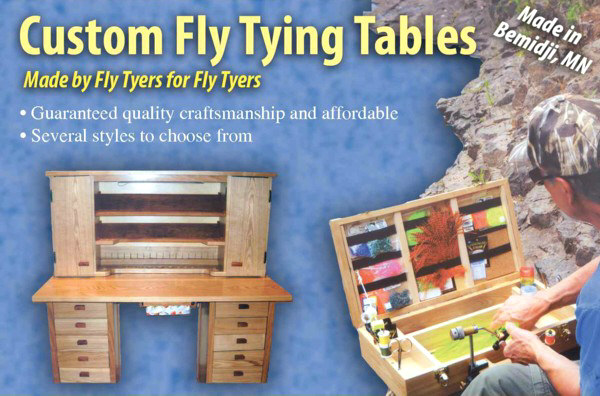 fly tying desk design