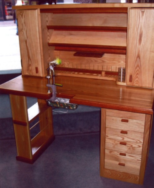 Fly Tying Table